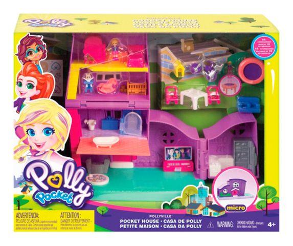 Coffret de jeu Polly Pocket Pollyville Maison de Polly Image de l'article