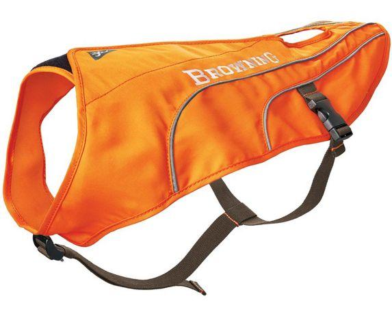 Veste de sécurité pou chiens Browning, orange vif Image de l'article