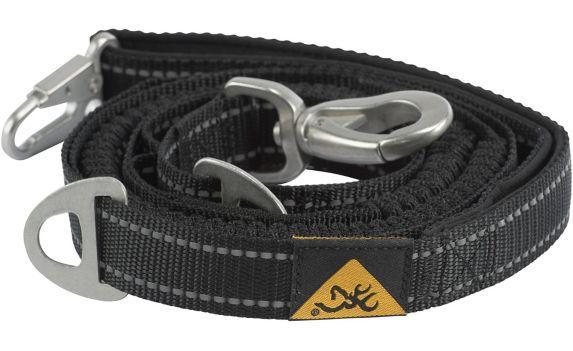 Browning Shock Absorbing Dog Leash, Black Product image