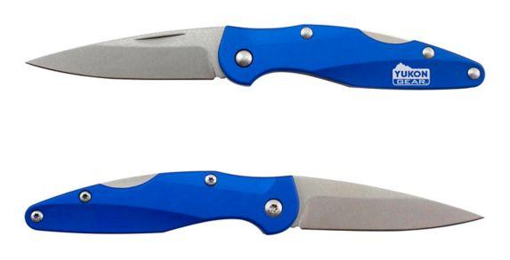 Yukon Gear Folding Pocket Knife with Aluminium Handle, Small Product image