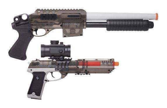 Pistolet et fusil à pompe avec mécanisme à ressort Crossman Game Face Ghost Image de l'article