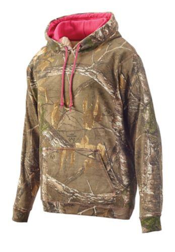Haut à capuchon camouflage Gildan, femmes Image de l'article
