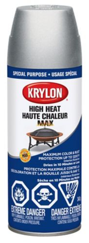Krylon® High Heat Max Protectant, Aluminum Finish Product image