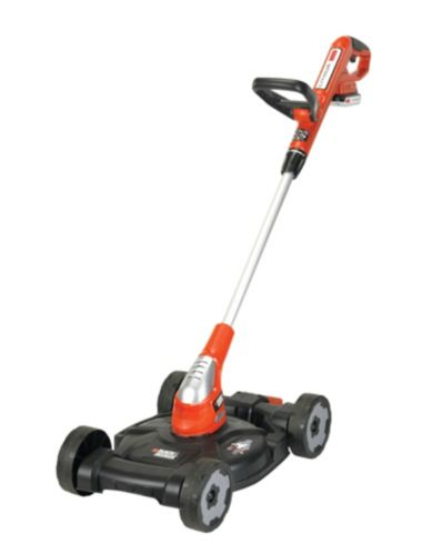 Black & Decker 3-in-1 City Mower/Electric Grass Trimmer, 12-in Product image
