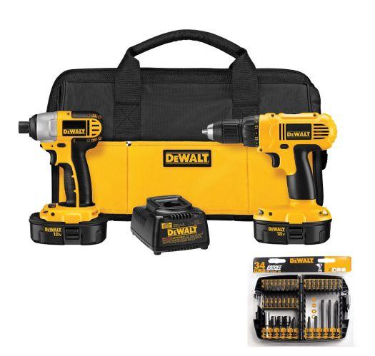 DEWALT 18V Drill & Impact Combo Kit Product image