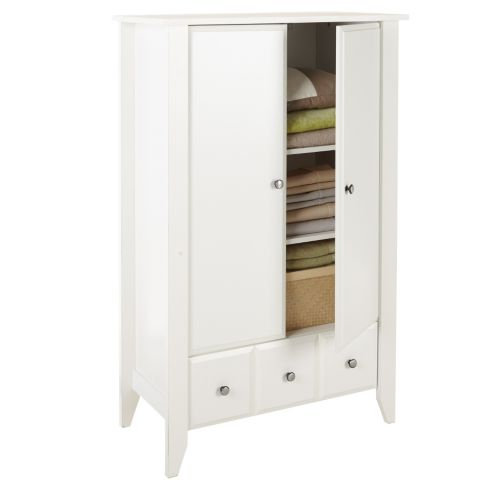 Sauder Armoire, White Product image