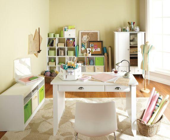 Sauder Desk, White Product image
