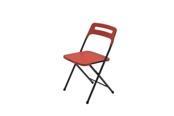 Chaise pliante rouge Image de l'article