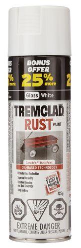 Tremclad White Bonus Aerosol, 425g Product image