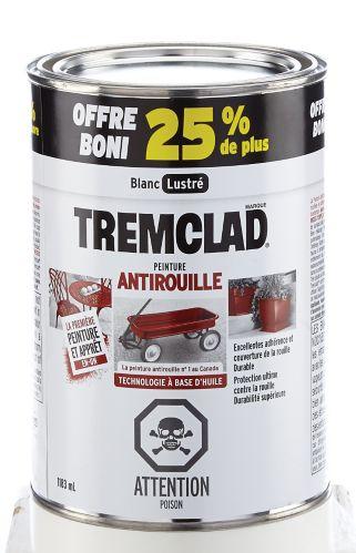 Tremclad White Bonus Brush Grade, 1184 mL Product image
