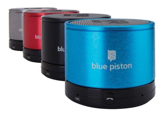 Logiix Blue Piston Bluetooth Speaker Product image