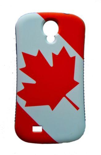 Étui pour cellulaire Samsung Galaxy 4 avec drapeau canadien Image de l'article