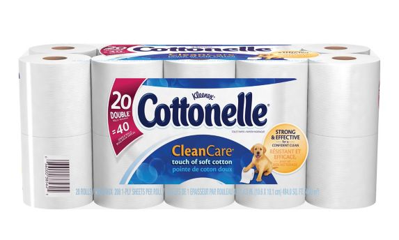 Cottonelle® Clean Care Double Roll Toilet Paper Product image