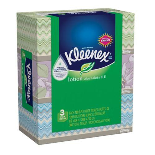 Kleenex Facial Tissue, 3-pk Product image