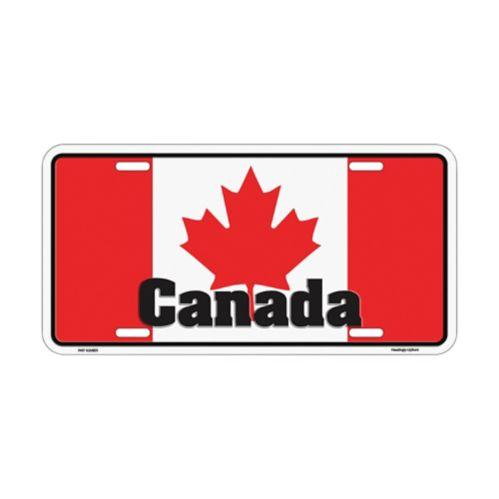 Plaque en métal, Canada Image de l'article