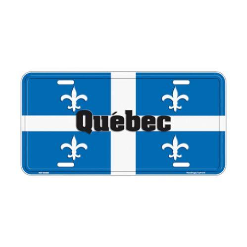 Plaque en métal, Québec Image de l'article