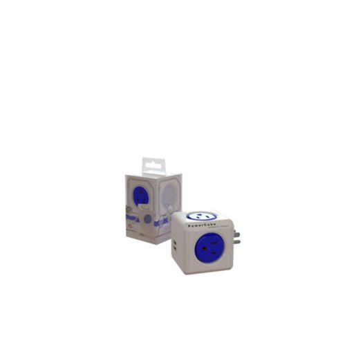 Adaptateur à 4 prises et 2 ports USB PowerCube Image de l'article