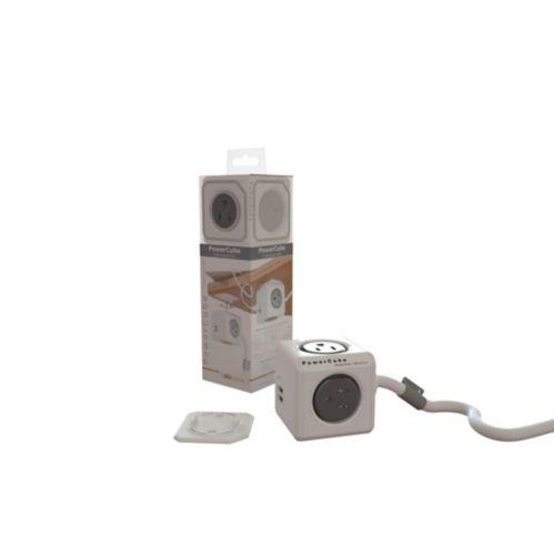 Adaptateur à 4 prises et 2 ports USB avec cordon PowerCube Image de l'article