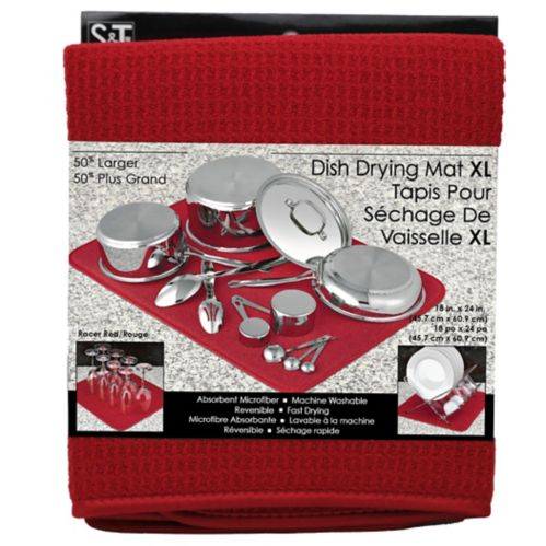 Extra-Large Red Dish Drying Mat Product image