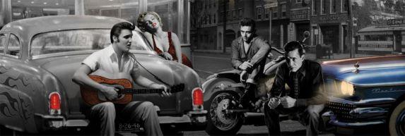 Affiche Elvis 9603 Image de l'article
