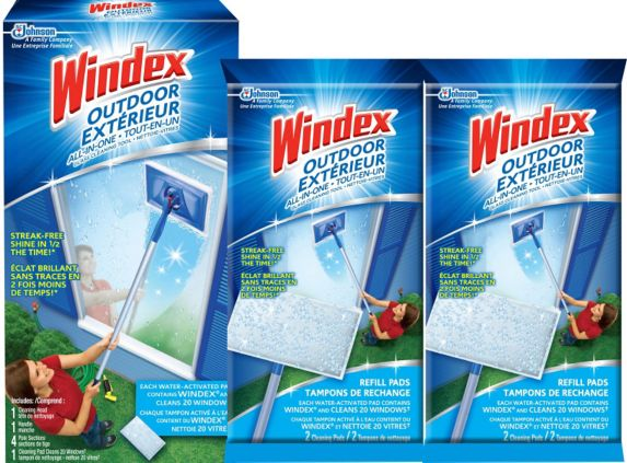 Windex Outdoor All-in-One Banded Pack Product image