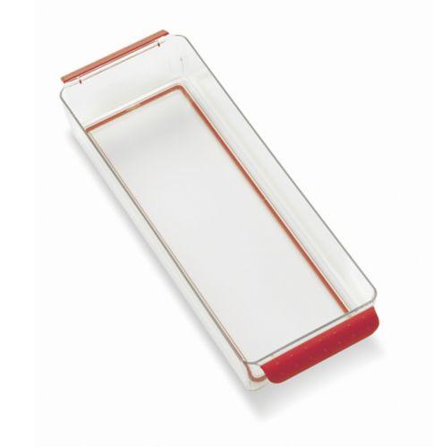 Bac à réfrigérateur rouge, peu profond Image de l'article