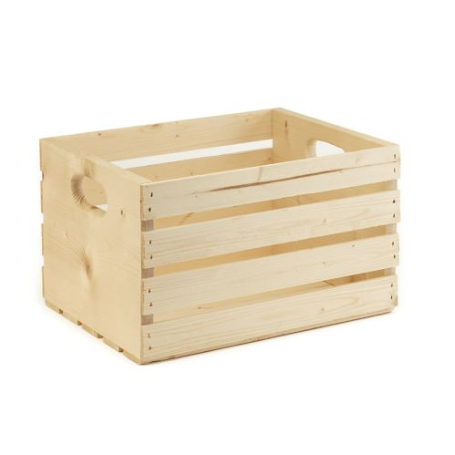 Adwood Wooden Storage Crate Product image