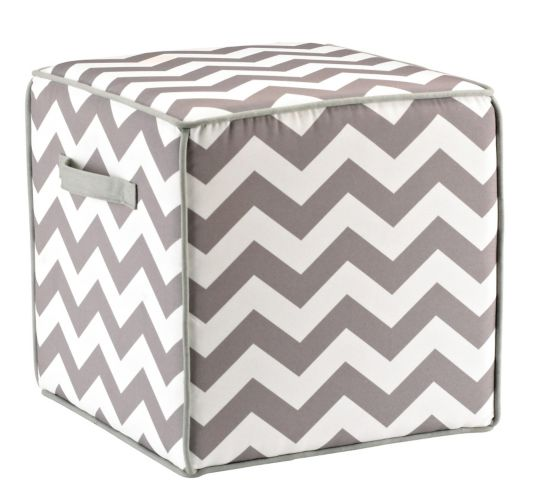 Square Canvas Pouf Chair Product image