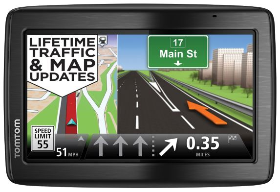 TomTom 1535 TM Car GPS with Bonus Charger Product image
