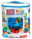 Sac de construction Mega Bloks First Builders, 80 pièces | Mattelnull