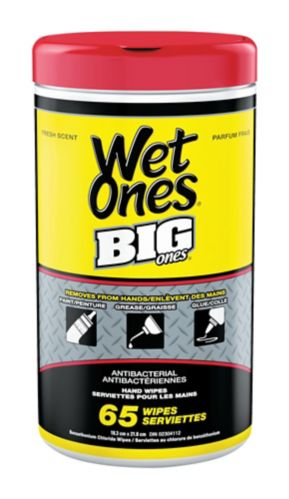 Wet Ones Big Ones Canister, 65-pk Product image