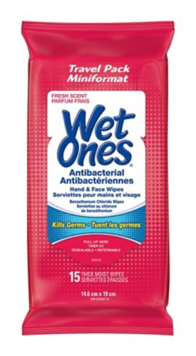 Wet Ones Skin Wipes, 15-pk Product image