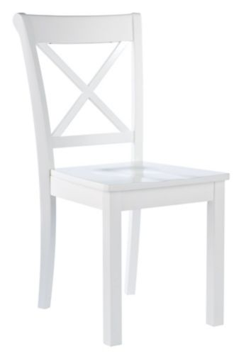 Elliott Side Dining Chair, White Product image