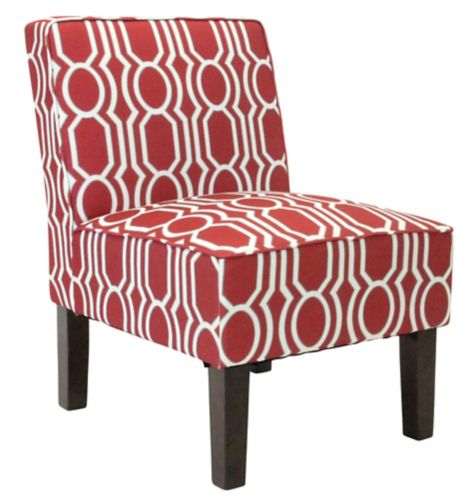 Sloane Accent Chair, Red Product image