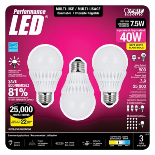 Feit Electric Performance LED Multi-Use Bulb Product image