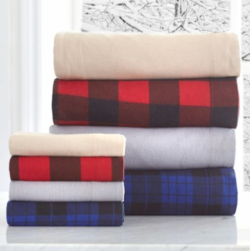 Queen Bed Flannel Sheet Set Product image