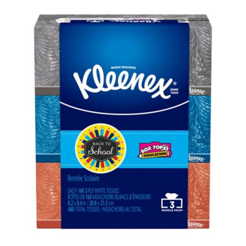 Kleenex Mainline Facial Tissue, 160-pc, 4-pk Product image