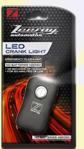 Lampe de poche à manivelle Zeeray à DEL pour automobile Image de l'article