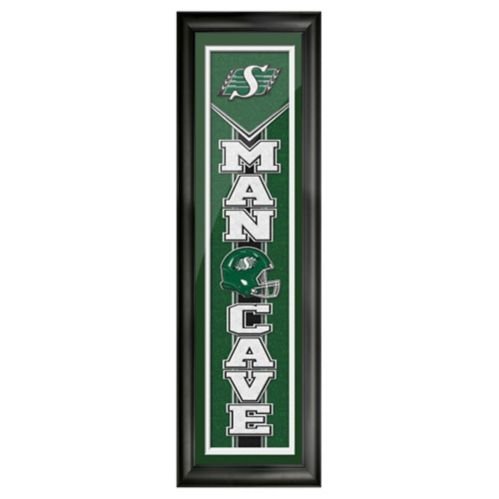 Saskatchewan Roughriders Man Cave Sign,6-in x 22-in Product image