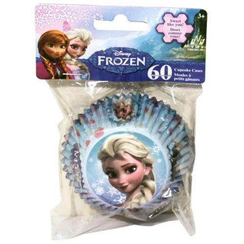 Moules pour petits gâteaux La Reine des neiges, paq. 60