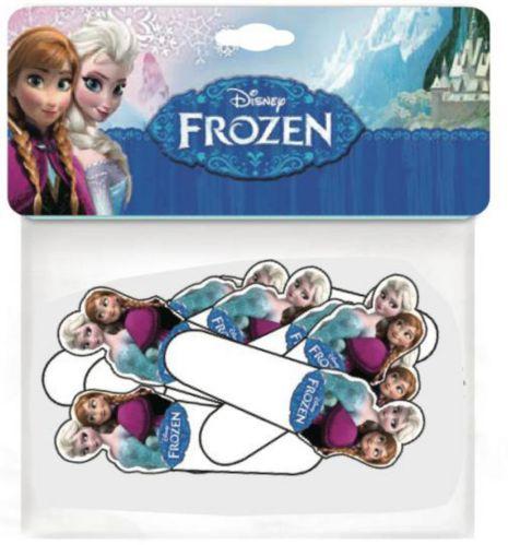 Décorations pour petits gâteaux La Reine des neiges de Disney, 24 paq.