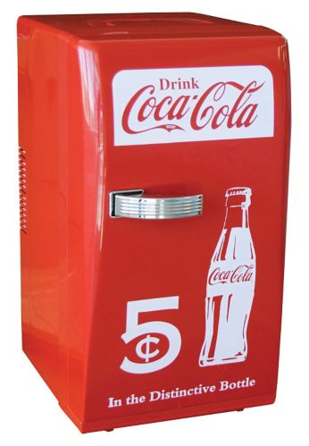 Coca-Cola Retro Style Fridge, 18-Can Product image