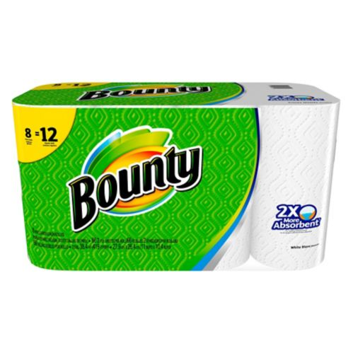 Bounty 8=12 Roll Paper Towel Product image