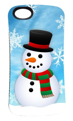 iPhone 5/5S Snowman Phone Case Product image