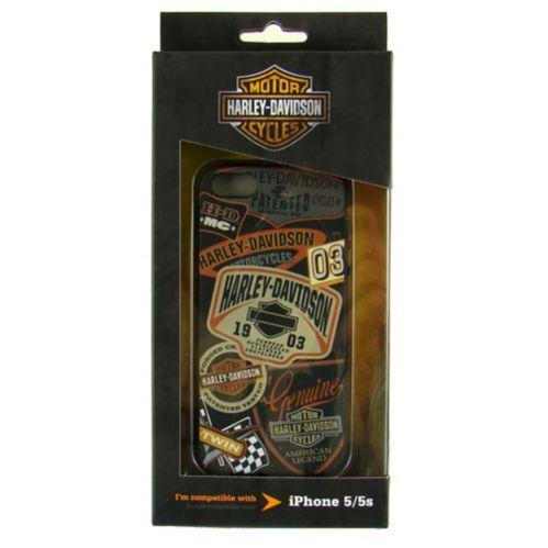 Étui en TPUR Harley-Davidson pour iPhone 5/5S
