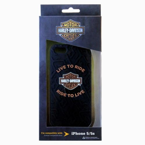 Harley-Davidson iPhone 5/5S Tired Tread Phone Case Product image