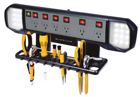 Winplus 6-Outlet Wall Mounted Power Bar Product image