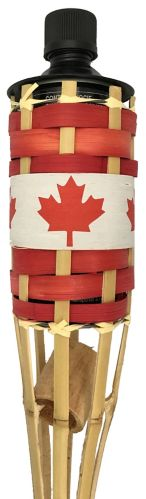Canada Day Tiki Bamboo Torch, 5-ft Product image