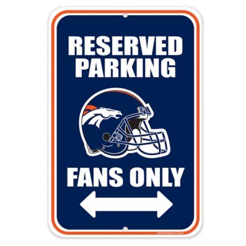 Denver Broncos Parking Sign Product image
