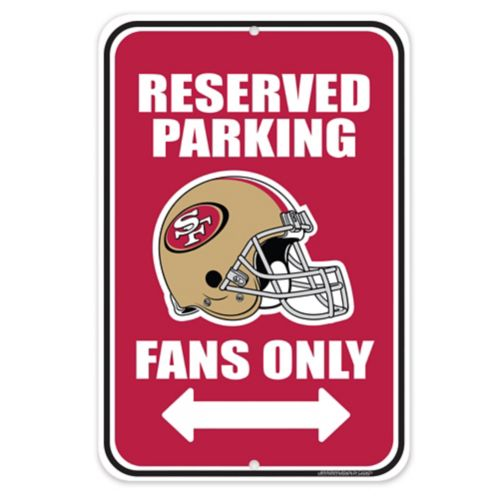 San Francisco 49ers Parking Sign Product image